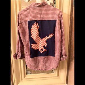 Auburn custom made, one of a kind shirt